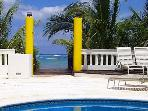 Beachfront Villa on San Francisco Beach, Private Pool, Near Reefs,Cook Option