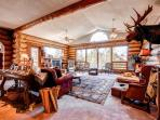 Swan River Lodge 5-Bdrm Rustic Log Home Views WIFI Breckenridge Lodging
