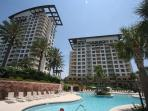 Luau 7027 ~ Beach Side Sandestin Resort ~ Great Gulf View ~ FREE Golf!!