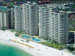 Silver Beach Towers 701E~Beach Front ~FREE Golf, Fishing, Snorkeling
