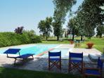Tuscany Apartment Accommodation on an Organic Wine Estate - Podere Bosco Verde I - Collina