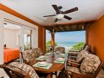 Elegant beachfront penthouse- oceanview from 2 balconies, a/c, pool, internet