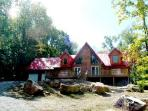 Rich Log Cabin, private; Oakland,WISP, Deep Creek