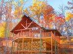 2 Bedroom Luxury Gatlinburg Cabin Minutes to Downtown