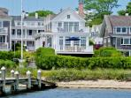 CLASSIC COLONIAL WITH VIEWS OF EDGARTOWN HARBOR & LIGHTHOUSE - EDG JCON-119
