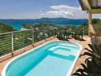 Ginger Thomas - Beautiful villa near Cruz Bay with pool & lovely ocean views