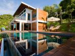 Contemporary Waterfront Villa with Private Pool and Panoramic Sea Views