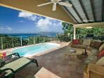 Ylang-Ylang - Charming luxury home with tropical surroundings, pool & beach activities nearby