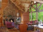 El Salto Log Home