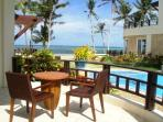 Luxury two bedroom beach front apartment