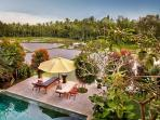 Villa Padi Menari - Beautiful villa in the lush rice fields of Ubud