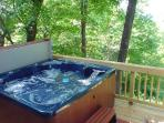 "Six Person Hot Tub On A ""Deck In The Trees""!"