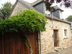 Charming Breton Stone Cottage  Brittany France