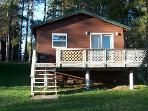 Pine Lake Cabin 4 Rent between Mercer & Hurley WI