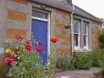Character  holiday cottage near Edinburgh Scotland