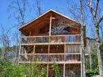Large Mountain Cabin on Bluff Mountain, Just Outside Pigeon Forge!  ALBEAR