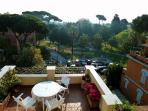 Boutique penthouse & wonderful terrace-Rome center