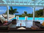 CALLISTO...a superb, St Martin villa with sunset views!