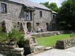 East Penrest. Organic Farm Holiday in 5 Star  Barn