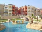 Luxury Garden Apartment with Mountain Views near Murcia
