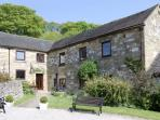 HENMORE GRANGE, family friendly, country holiday cottage, with a garden in Wirksworth, Ref 6501
