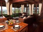 Mountain Lakeside Villa. Stunning views.Daily maid