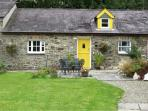 THE STABLE, pet friendly, country holiday cottage, with a garden in Llandysul, Ref 7087