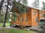 Luxury Cabin on the Kootenay River, the BC Rockies