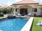 Villas for rent in Hua Hin: V5344