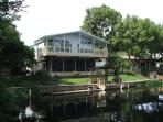 3 Bed/3 Bath Waterfront House, Huge Dock, Manatees