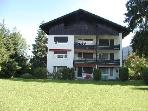 Vacation Apartment in Oberstdorf - 409 sqft, living/bed room with two fold-out beds (# 1463)