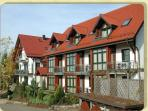 Vacation Apartment in Gersfeld - balcony, large windows, beautiful landscape (# 776)