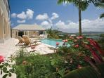 Mango Hill Greathouse at Estate Shoys, St. Croix - Ocean View, Pool, Sequestered On A Breezy Knoll