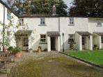 MILKMAID'S PARLOUR, pet friendly, character holiday cottage, with a garden in Cartmel, Ref 10306