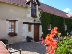 Superb gite in beautiful gardens with heated pool.