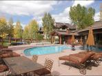 Great Location with Private Shuttle Service in Ski Season, City Shuttle Year Round - Private Patio with Hot Tub, Fireplace (11172)