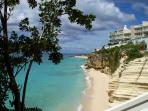 The Cliff Beach & Spa A7 at Cupecoy, Saint Maarten - Beachfront, Gated Community, Communal Pool