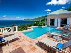 Murray House at Long Bay, Tortola - Ocean View, Pool, Short Drive To Beaches, Restaurants And Shops