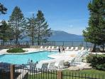 Nicely furnished Tahoe Keys Condo with boat dock