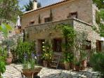Traditional Stone House in Peloponnese Greece