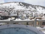 Park City Panorama Home in Old Town Over Main St.!