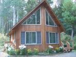 Parksville Area Cedar guest house nestled in woods