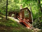 Rushing Waters Cabin-Romantic Waterfall Cabin