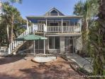 Vilano Bluebird Cottage, HDTV, Walk to Beach