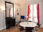 Rue Larrey. Fabulous 2/3 bed apartment in the Latin Quarter, Place Monge. Spacious and calm.