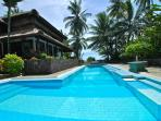 Unique beachfront Villa with private pool in Bali