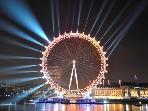 LONDON EYE FLAT2 SHARD in SouthBank 2bed1bath + CarPark option