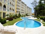 Sapphire Beach 114 at Dover Beach, Barbados - Beachfront, Gated Community, Communal Pool