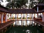 A superbly sited beach villa set close to Galle
