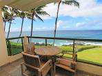 2BR Oceanfront Poipu Shore Condo/Kitchen/WiFi 204A